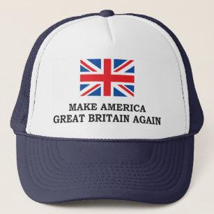 87940fd79e4 MAKE AMERICA GREAT BRITAIN AGAIN TRUCKER HAT