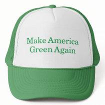 Make America Green Again Funny Mock Political Hat
