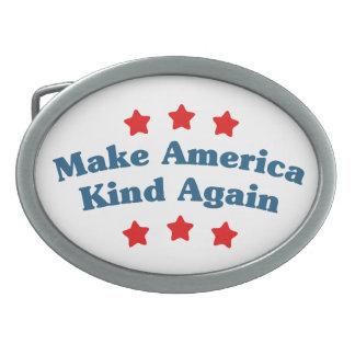 Make America Kind Again Belt Buckle
