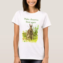Make America Kind Again Bunny Rabbit Shirt