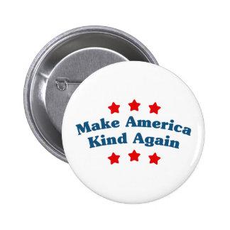 Make America Kind Again Pinback Button