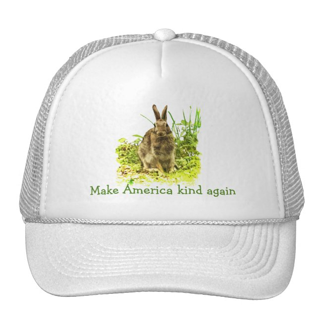 Make America Kind Again Sweet Bunny Rabbit Hat