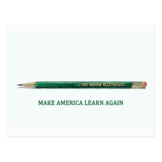 Make America Learn Again: Congress Postcard