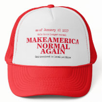 Make America NORMAL Again Trucker Hat