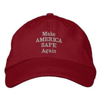 Make America Safe Again Embroidered Baseball Hat