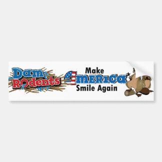 Make America Smile Again Bumper Sticker