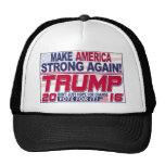 Make America Strong Again Trump 2016 Trucker Hat