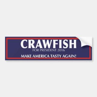 Make America Tasty Again! Crawfish Bumper Sticker