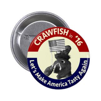 Make America Tasty Again! Crawfish Button