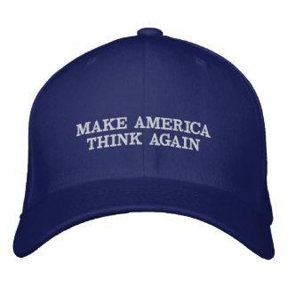 Make America Think Again Baseball Cap