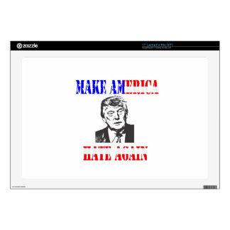 """Make American Hate Again Anti Trump 17"""" Laptop Skins"""
