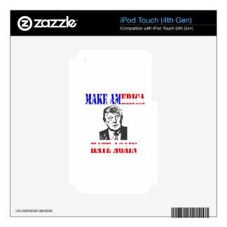 Make American Hate Again Anti Trump Skin For iPod Touch 4G
