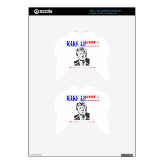 Make American Hate Again Anti Trump Xbox 360 Controller Skins