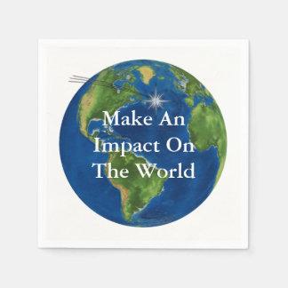 Make An Impact Napkin
