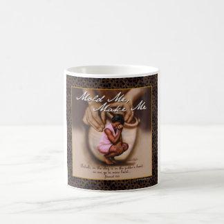 Make and mold me classic white coffee mug