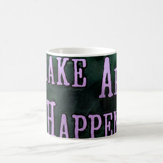 Make Art HappenSq Coffee Mug