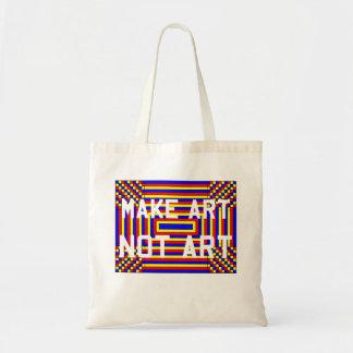 Make Art Not Art Tote Bag