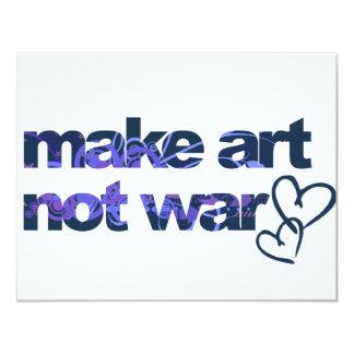 Make Art, Not War Announcements