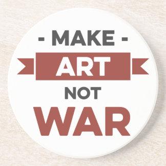 Make Art Not War Coaster