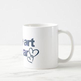 Make Art, Not War Coffee Mugs