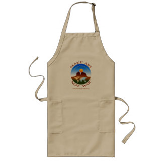 Make Art Not War - Long Apron