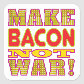 Make Bacon Stickers