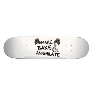 Make Bake & Annihilate Skate Deck