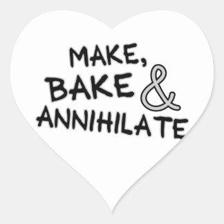 Make Bake Annihilate Sticker
