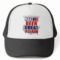 Make Beer Great Again Trucker Hat