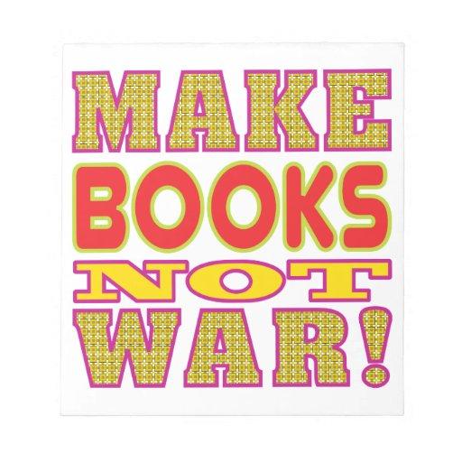 Make Books Memo Note Pad