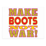 Make Boots Post Card