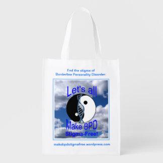 Make BPD Stigma-Free Reusable Bag Reusable Grocery Bags