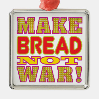 Make Bread Metal Ornament