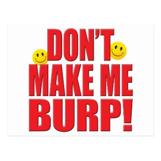 Make Burp Life Post Card