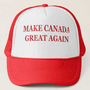 fec051bc215 Make Canada Great Again  Donald Trump Parody Hat