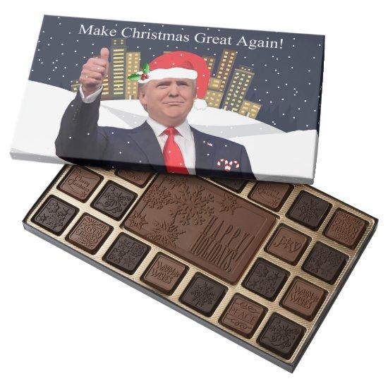 Make Christmas Great Again Donald Trump Chocolates