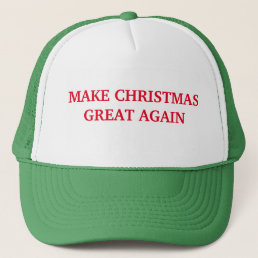 Make Christmas Great Again Hat