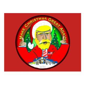 Make Christmas Great Again Postcard