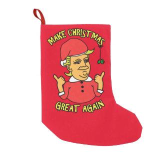 Make Christmas Great Again Small Christmas Stocking