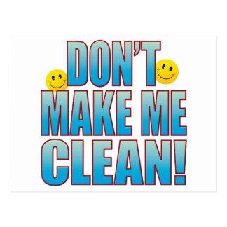 Make Clean Life B Postcard