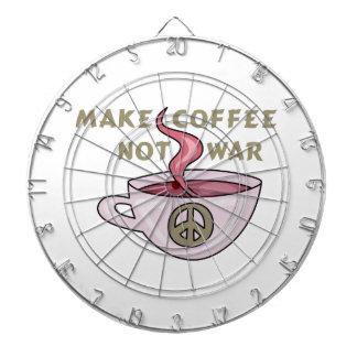 MAKE COFFEE NOT WAR DART BOARDS