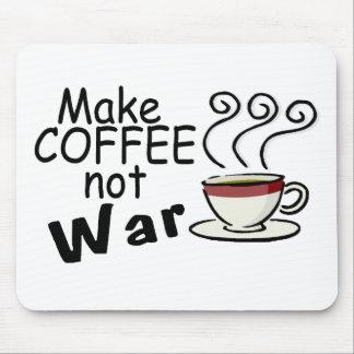 Make Coffee Not War Mouse Mat