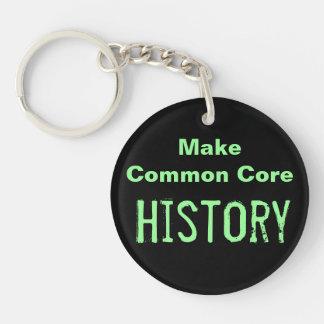 Make Common Core History Keychain