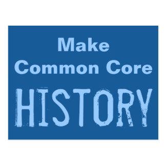 Make Common Core History Postcard