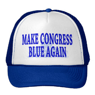 Make Congress Blue Again Cap Trucker Hat
