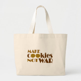 Make Cookies Not War Tote Bags