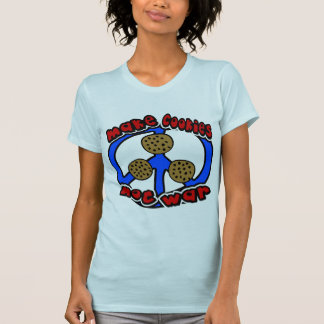 Make Cookies Not War With Unusual Peace Symbol T-Shirt