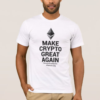 Make Crypto Great Again Ether T-Shirt