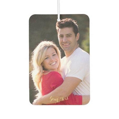 Make Custom Personalized Car Home Auto Decor Photo Air Freshener