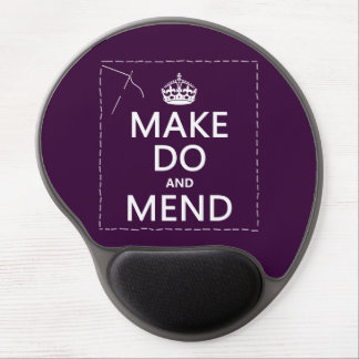 Make Do and Mend (all colors) Gel Mouse Pad